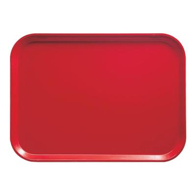 Cambro 1216510 Fiberglass Camtray Cafeteria Tray - 16.3L x 12W, Signal Red on Sale