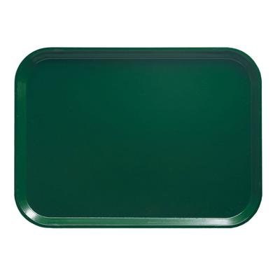 Cambro 1318119 Fiberglass Camtray Cafeteria Tray - 17.75L x 12.6W, Sherwood Green on Sale