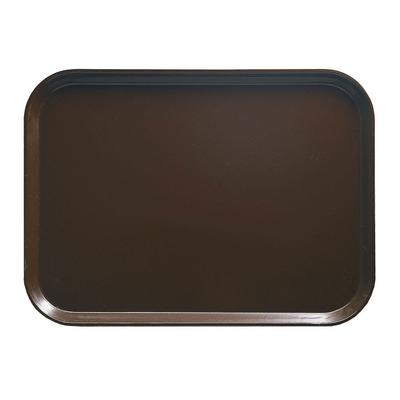 Cambro 57116 Fiberglass Camtray Cafeteria Tray - 6.9L x 4.9W, Brazil Brown on Sale