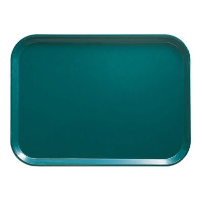 Cambro 810414 Fiberglass Camtray Cafeteria Tray - 9.8L x 8W, Teal on Sale