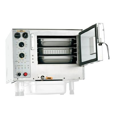 Accutemp S32081D060 (3) Pan Convection Steamer - Countertop, Holding Capability, 208v/1ph on Sale