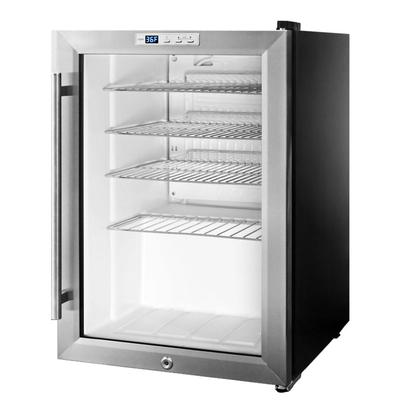 Summit SCR312LCSS 17 Countertop Refrigerator w/ Front Access - Swing Door, Stainless, 115v on Sale
