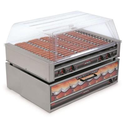 Nemco 8075-220 75 Hot Dog Roller Grill - Flat Top, 220v on Sale