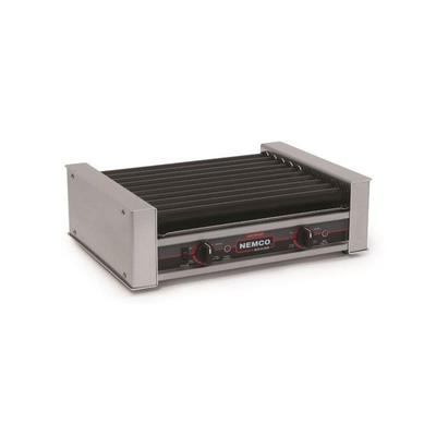 Nemco 8027SX 27 Hot Dog Roller Grill - Flat Top, 120v on Sale