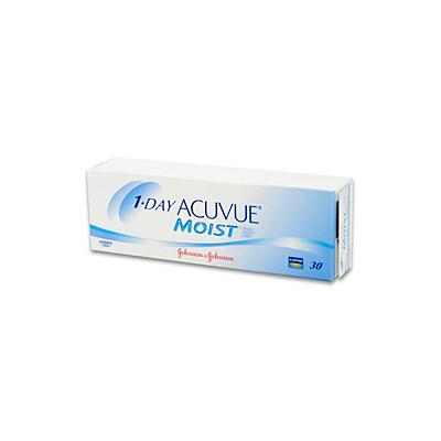SB: 1-Day Acuvue Moist contact lens 1-Day Acuvue Moist contact lenses combine the proprietary Accelerated Stabilisation Design used in ACUVUE ADVANCE for ASTIGMATISM with the proven etafilcon A material of 1-Day Acuvue