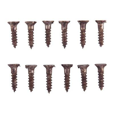 "Brownells Unplated Steel Flat Head Wood Screw Kit - 4 X 1/2"" Wood Screws, Refill Pak"