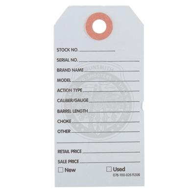 Brownells Gun Price Tags - 500 Brownells Gun Price Tags, Light Blue