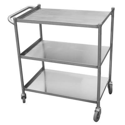 Turbo Air TBUS-1828E Economy Series Stainless Steel Utility Cart, 18 x 28 on Sale