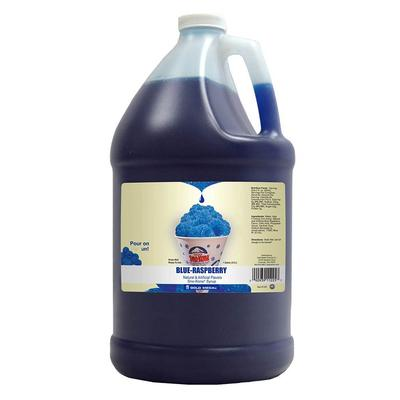 Gold Medal 1225 Blue Raspberry Snow Cone Syrup, Ready-To-Use, (4) 1 gal Jugs on Sale