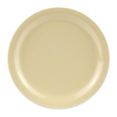 GET NP-9-SQ 9 Round Dinner Plate, Melamine, Squash on Sale
