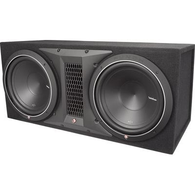 "Rockford Fosgate Punch P1-2X10 Dual 10"" Loaded Enclosure"