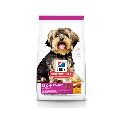 Hill's Science Diet Adult Small Paws Chicken Meal & Rice Recipe Dry Dog Food, 4.5-lb bag