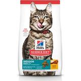 Hill's Science Diet Adult 7+ Indoor Chicken Recipe Dry Cat Food, 7-lb bag