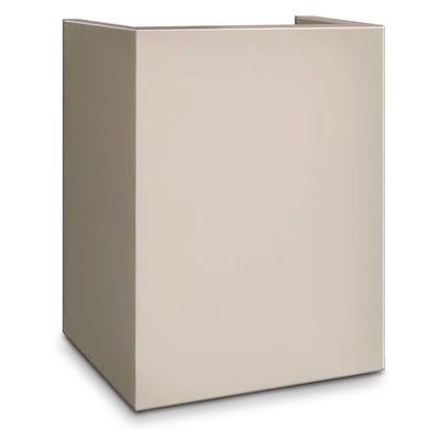 Mesa MP916 CRM Pedestal for Hotel Safe MHRC916, 18 x 15 x 10, Cream on Sale
