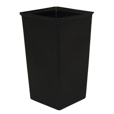 Witt 21R 21 gal Square Rigid Trash Can Liner, Plastic - Black on Sale