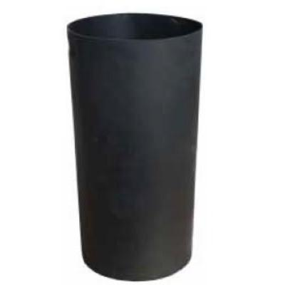 Witt SMB24L 24 gal Round Rigid Trash Can Liner, Plastic - Black on Sale