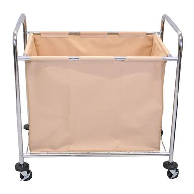 Luxor HL14 Heavy Duty Laundry Cart w/ Removable Bag, 36.25L x 22W x 35H on Sale