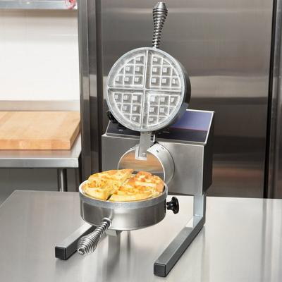 Nemco 7020A-1 Belgian Waffle Maker with Fixed Grids - 120V