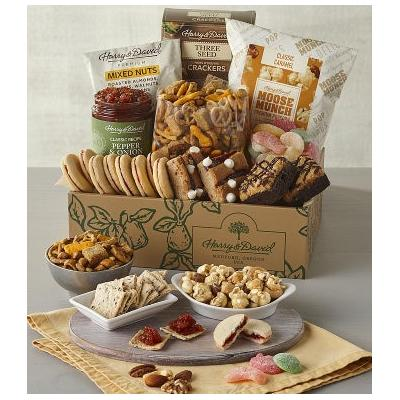 Deluxe Sweet and Salty Gift Box - Gift Baskets & Fruit Baskets - Harry and David