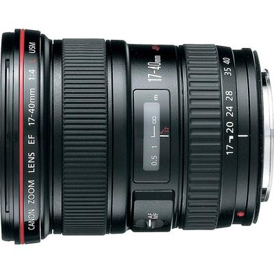 Canon EF 17-40mm f/4L Ultra Wide Zoom Lens on Sale
