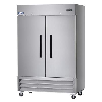 Arctic Air AF49 54 Two Section Reach In Freezer, (2) Solid Doors, 115v