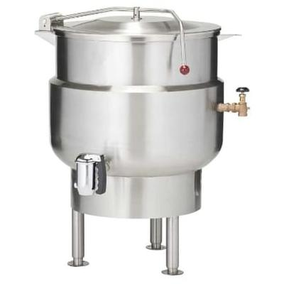 Vulcan K40DL 40-gal. Steam Kettle - Stationary, 2/3 Jacket, Direct Steam on Sale
