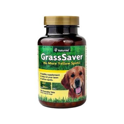 NaturVet GrassSaver Dog Tablets,...