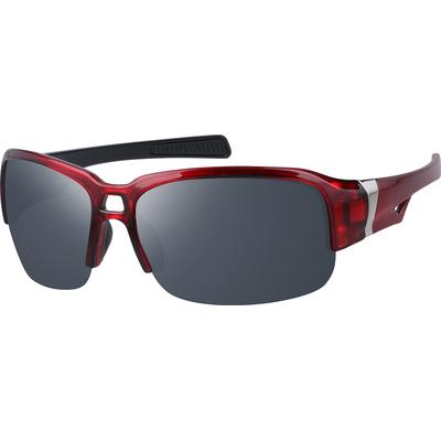 Zenni Womens Sunglasses Red Frame Other Plastic A10161118