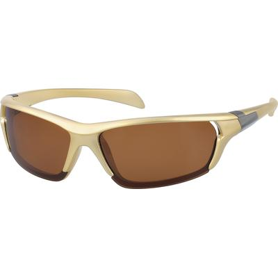 Zenni Mens Sunglasses Brown Frame Other Plastic A10184515