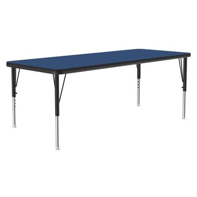 Correll A2448-REC 37 Activity Table w/ 1.25 High Pressure Top, 48W x 24D, Blue on Sale