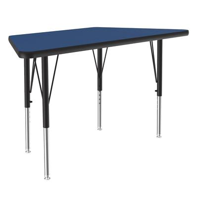 Correll A2448-TRP 37 Activity Table w/ 1.25 High Pressure Top, 48W x 24D, Blue on Sale