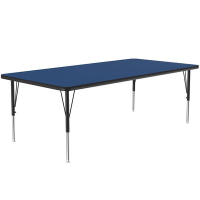 Correll A3672-REC 37 Activity Table w/ 1.25 High Pressure Top, 72W x 36D, Blue on Sale