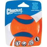 Chuckit! Ultra Rubber Ball Tough Dog Toy, Large