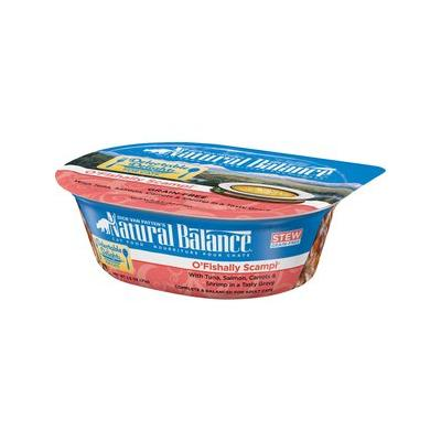 Natural Balance Delectable Delights Grain-Free O'Fishally Scampi Cat Stew, 2.5-oz tubs, 12ct