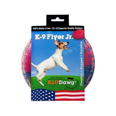 Ruff Dawg K9 Flyer Disc Dog Toy, Color Varies, Flyer Jr