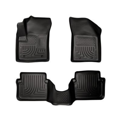 2011-2014 Dodge Avenger Front and Rear Floor Mat Set - Husky Liner