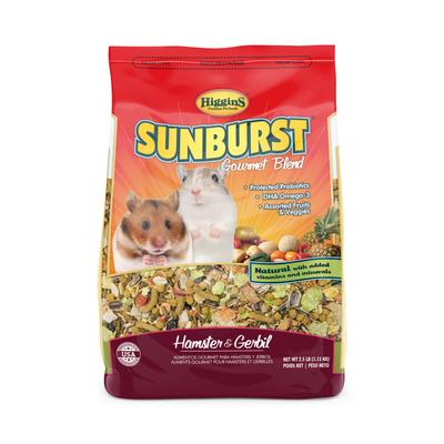 Sunburst Gourmet Blend is the premium companion food loaded with natural goodness for small animals.