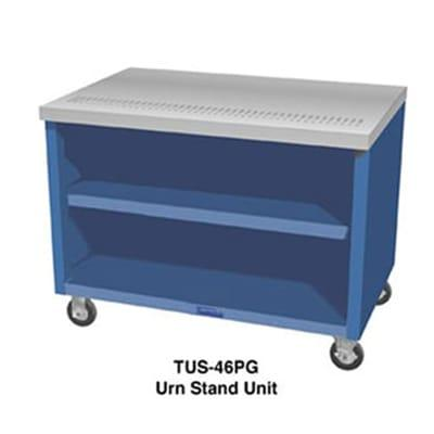 Duke TUS-32SS 32 Mobile Urn Stand Unit w/ 1 Drain, 4 Trough, All Stainless on Sale