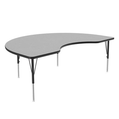 Correll A4872-KID15 Activity Table w/ 1.25 High Pressure Top, 72W x 48D, Gray Granite on Sale