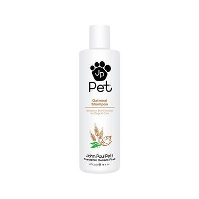 John Paul Pet Sensitive Skin Formula Oatmeal Dog & Cat Shampoo, 16-oz bottle