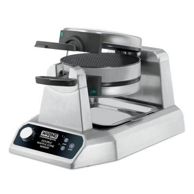 Waring WWCM200 Non-Stick Double Waffle Cone Maker w/ (120) 7 Per Hour, Rotary on Sale