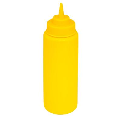 GET SB-24-Y 24 oz Squeeze Bottle w/ Lid, Yellow on Sale