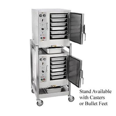 Accutemp S62403D110DBL (12) Pan Covection Steamer - Stand, Holding Capability, 240v/3ph on Sale