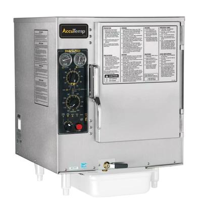 Accutemp S62403D110 (6) Pan Convection Steamer - Countertop, Holding Capability, 240v/3ph on Sale