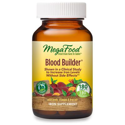 MegaFood Cardiovascular Support - Blood Builder - 180 Tablets