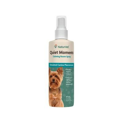 NaturVet Quiet Moments Herbal Calming Aid Dog Spray, 8-oz bottle