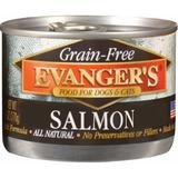 Evanger's Grain-Free Salmon Canned Dog & Cat Food Supplement, 6-oz, case of 24
