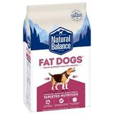 Natural Balance Fat Dogs Chicken & Salmon Formula Low Calorie Dry Dog Food, 5-lb bag