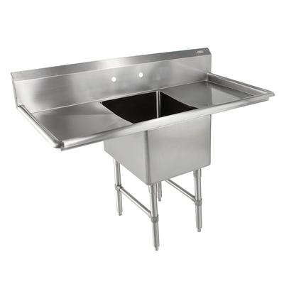 John Boos 1B244-2D24 75 1 Compartment Sink w/ 24L x 24W Bowl, 14 Deep on Sale