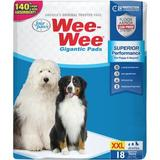 Wee-Wee Pads Gigantic, 27.5 x 44, 18 count